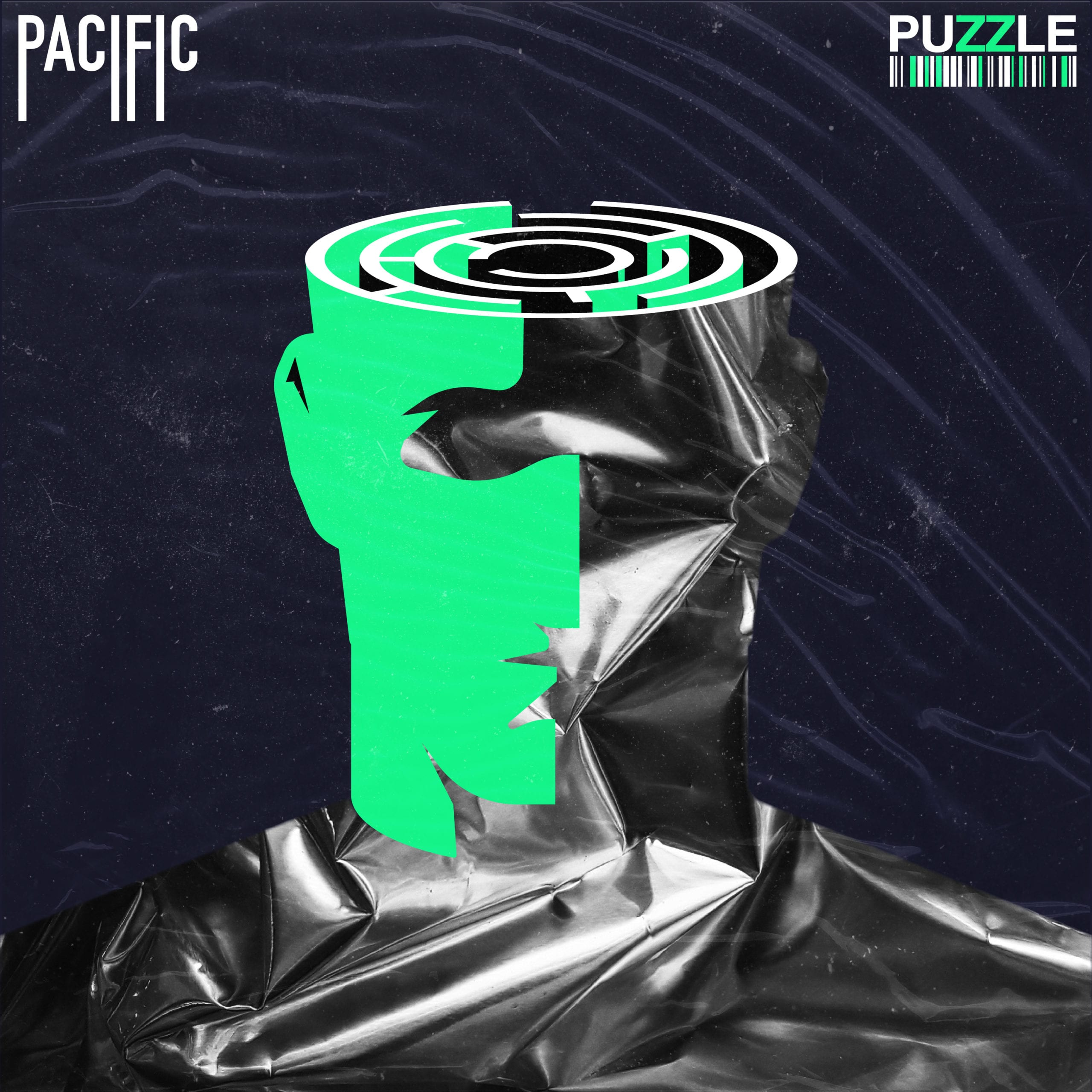 Artwork for the single Puzzle by the indie rock band Pacific